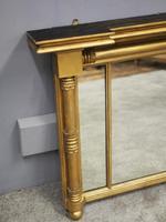George IV Gilt and Mahogany Overmantel Mirror (5 of 8)