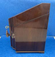 George III Mahogany Cutlery Box (5 of 12)