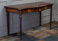 George III Mahogany Serpentine Side / Serving Table (10 of 10)