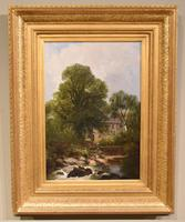 """Oil Painting by Joseph Paul Pettitt """"The Mill at Capel Currig, North Wales"""""""