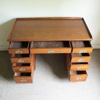 Teak Pedestal Desk (5 of 10)
