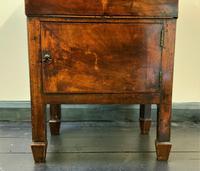 Rare & Fine 18th Century George III Figured Mahogany Drinks Decanter Bottle Cabinet (15 of 16)