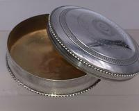 Superb French Silver Pill Trinket Box Early 20th Century Paris Hallmark (6 of 6)