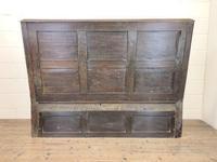 Large Antique Oak Settle (12 of 12)