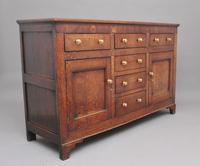 18th Century Country Oak Dresser Base (4 of 11)