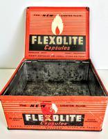 Vintage Advertising Tin for Flexolite  Lighter Fuel Capsules (3 of 10)