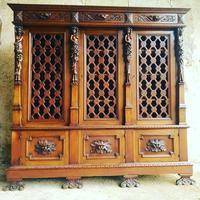 Italian Neo Renaissance Desk, Study Furniture Gothic (7 of 10)