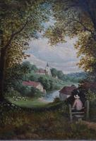 Fine Pair of English Landscapes - J J Hill (4 of 11)