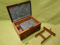 Unisex Rosewood Jewellery Box. Front Drawer. C1830. (5 of 11)