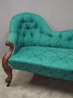 Victorian Mahogany Double Ended Sofa (3 of 9)
