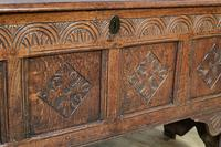 Mid 18th Century Oak Coffer (11 of 11)