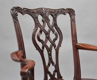 19th Century Mahogany Chippendale Style Chair (5 of 7)