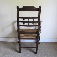 Ash Spindle-back Carver Chair (5 of 5)
