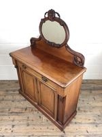 Victorian Mahogany Mirror Back Chiffonier Sideboard (9 of 13)