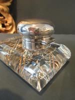 George V Period Solid Silver Pen & Inkstand (7 of 7)
