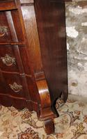 Dutch oak small chest of drawers. 18th century (5 of 9)