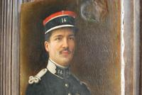 Oil Painting of a WW1 French Officer in Uniform (3 of 6)