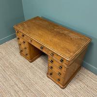Unusual Victorian Painted Pine Antique Desk (6 of 6)