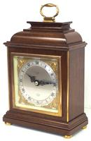 Perfect Vintage Mantel Clock Caddy Top Bracket Clock by Elliott of London Retailed by Malory of Bath (7 of 12)