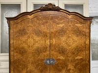 Burr Walnut 2 Door Wardrobe (4 of 9)