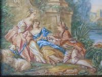Beautiful Miniature Painting after Boucher by the Lake (5 of 6)