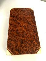 Art Deco Burr Walnut Trinket / Tobacco Box (2 of 7)