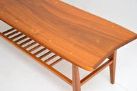 1960's Vintage Inlaid Walnut Coffee Table (6 of 9)