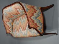 Shapely & Elegant Mid 19th Century Camelback Sofa (4 of 5)