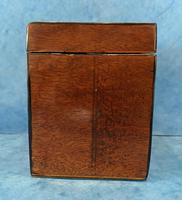 18th Century Harewood Inlaid Single Mahogany Tea Caddy (9 of 18)