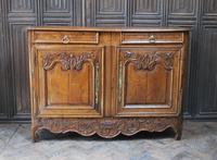 French Oak Buffet / Dresser Base (2 of 9)