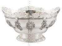 Sterling Silver Presentation Bowl - Antique George V 1918 (12 of 12)