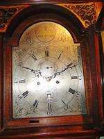 Scottish Georgian Mahogany Longcase Clock (8 of 10)