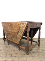 Early 20th Century Oak Gateleg Table (5 of 12)
