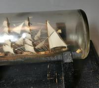 Antique Ship in a Bottle, Nautical (4 of 12)