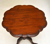 Antique Victorian Style Mahogany Side Table (5 of 9)