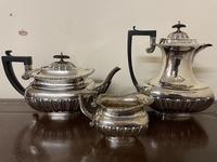 Edwardian William Aitken Solid Silver Tea & Coffee Set Birmingham 1903 (2 of 14)
