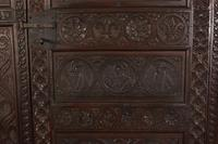 Carved Oak Hall Cupboard (4 of 15)