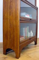 Handsome 1930s Barrister Solicitors Oak Bookcase (5 of 13)