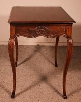 Small Louis XV Table In Oak -18 ° Century (9 of 10)