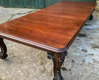 Very Large Victorian Extending Dining Table in Mahogany (3 of 17)