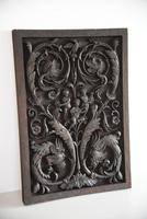 Carved Wood Ornamental Plaque (10 of 11)