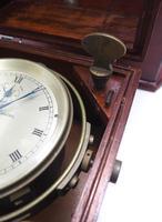 Original Thomas Mercer 2-day Marine Chronometer Ships Clock– Chain Fusee Earnshaws Detent Escapement Box & Key (6 of 14)