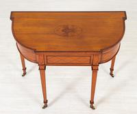 Satinwood Card Table in the Hepplewhite Style (7 of 8)