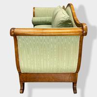 Walnut Biedermeier Sleight Style Sofa (7 of 10)