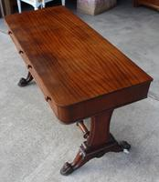1900's Mahogany Side Table with Two Drawers (3 of 4)