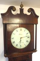 Fine English Longcase Clock Glover of Manchester 8-day Grandfather Clock Solid Oak Case (7 of 14)