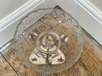 19th Century Victorian Silver Plate Sphinx Cut Glass Epergne Centrepiece Stand (28 of 28)