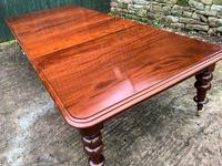 Very Large Victorian Mahogany Extending Dining Table (10 of 16)