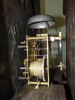 Georgian Scottish Cuban Mahogany Longcase Clock (10 of 10)