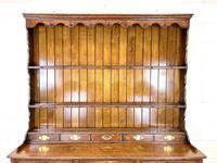 Antique Welsh Oak Pot Board Dresser (3 of 10)